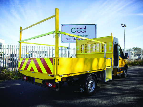 yellow toolpod conewell dropside